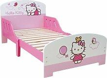 Unbekannt Fun House 711819 Einrichtung und Dekoration Hello Kitty Bett Wolken klein mit Lattenros