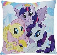 Unbekannt Fun House 712530My Little Pony Kissen quadratisch für Kinder Polyester 35x 15cm