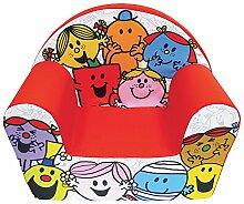 Unbekannt Fun House 712571Herr Frau Sessel Club für Kinder Schaumstoff/Bezug Polyester Rot 52x 33x 42cm