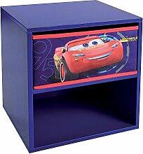 Unbekannt Fun House 712762Cars Nachttisch mit Schublade für Kinder