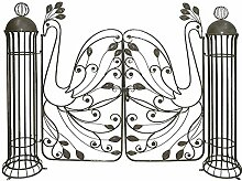 Unbekannt Garten Pforte Edel Rost Optik Stahl Tor
