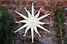 Unbekannt Gartenfigur Wanddeko Lachende Sonne