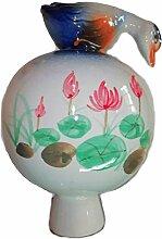 Unbekannt Gartenkugel mit Ente,15cm