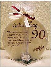 Unbekannt Geschenk Kerze zum 90. Geburtstag