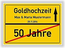 Unbekannt Geschenkidee zur Goldhochzeit - 50 Jahre