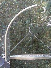Unbekannt Grillgalgen + 70 cm Grillrost Grill Rost