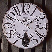 Unbekannt Grosse PENDEL WANDUHR Old Town Clocks