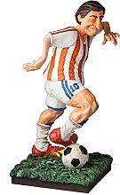 Unbekannt Guillermo Forchino der Fußballer, Holz,