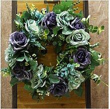 Unbekannt Hochzeits-Blumen-Kranz neu für