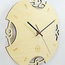 Unbekannt Hölzerne Wanduhr Kreative Uhr