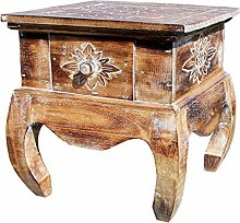 Unbekannt Holz Nachttisch Opiumtisch Telefontisch
