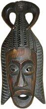 Unbekannt Holzmaske Afrika VI Wandmaske