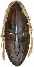 Unbekannt Holzmaske Afrika VII Wandmaske