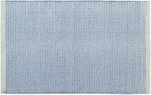 Unbekannt Home Basics HM4A Teppich für Haus, Baumwolle, Himmelblau, 60x 90cm