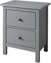 Unbekannt IKEA HEMNES Kommode mit 2 Schubladen;