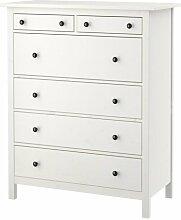 Unbekannt IKEA HEMNES Kommode mit 6 Schubladen;