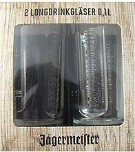 Unbekannt Jägermeister - 2 Longdrinkgläser -