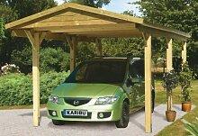Unbekannt Karibu Classic Carport 1 Satteldach