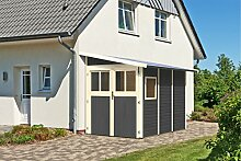 Unbekannt KARIBU Gartenhaus Wandlitz, Fichtenholz