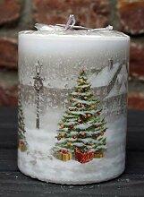 Unbekannt Kerze Weihnachtsbaum Vintage