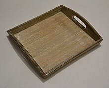Unbekannt Kerzentablett Dekotablett Tablett