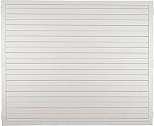 Unbekannt Kunststoff Dichtzaun Paris B180 x H150 cm