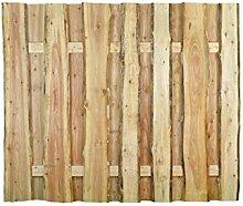 Unbekannt Lärche Lattenzaun Bretterzaun Ottawa B180 x H150 cm