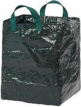 Unbekannt Laubsack, Faltbarer Behälter Zum transportieren für Laub, Blätter, Gartenabfälle Oder Gemähten Rasen aus Kunststoff