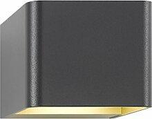 Unbekannt LCD Aluminium Aussenleuchte up & Down Typ 5040