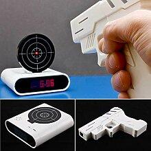 Unbekannt LCD Digital Alarm Shooting Wecker Uhr