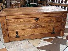 Unbekannt Massive Handgemachte Holzkiste Truhe Box