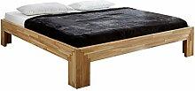Unbekannt Massivholz-Bett Selina 180 x 200 cm aus