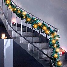Unbekannt Maxi LED-Girlande, Weihnachtsgirlande