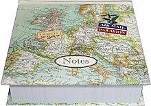 Unbekannt Memo Blok - Vintage map