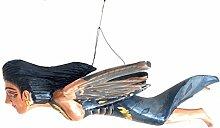 Unbekannt Mermaid Flying Devi balinesische Göttin