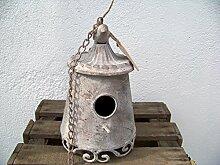 Unbekannt Metall Vogelhaus Shabby Chic