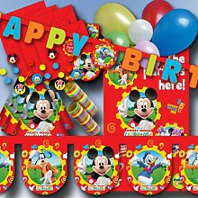 Unbekannt Mickey Mouse Partydeko Se