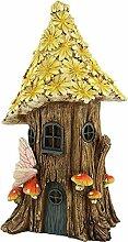 Unbekannt Minigarten, Baumhaus mit Blütendach