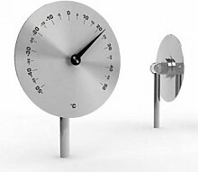 Unbekannt Odin Disc Classic Garten-Thermometer