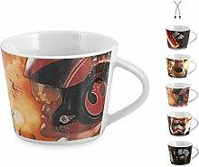 Unbekannt OKT Set 16Tassen Kaffee Porzellan Star