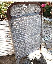 Unbekannt Omis Waschbrett Waschzuber Landhaus Gartendeko Retro Rostdeko Zink Bre