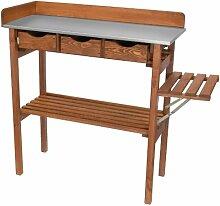 Unbekannt Pflanztisch 90x40x90cm Holz Tisch inkl.
