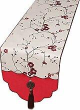 Unbekannt Red Tischläufer Couchtisch Streifen