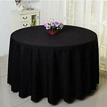 Unbekannt Runde Tischdecke für Hochzeit, Weiß,