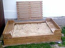 Unbekannt Sandkasten mit Abdeckung Sandkasten