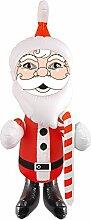 Unbekannt Santa Claus aufblasbar 67cm aufblasbarer