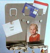 Unbekannt Schlüsselboard EDELSTAHL mit Magneten