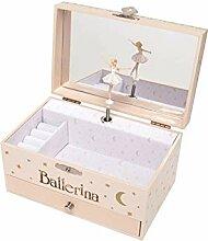 Unbekannt Schmuck Spieldose Ballerina
