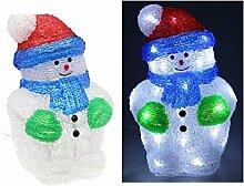 Unbekannt Schneemann beleuchtet 30weiße LEDs