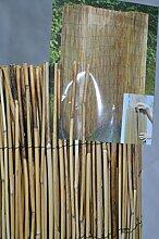 Unbekannt Schöne Schilfrohrmatte 140 X 600 CM Sichtschutz Halm an Halm Sichtschutzmatte für Garten, Balkon, Terasse, als Sonnenschutzabdeckung uvm. einsetzbar